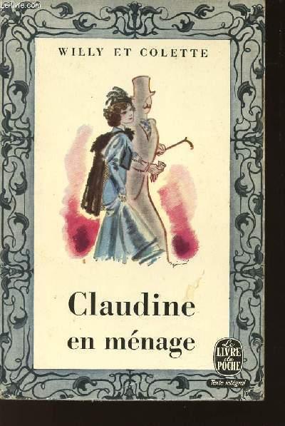 CLAUDINE EN MENAGE / N°219 DU LIVRE DE POCHE