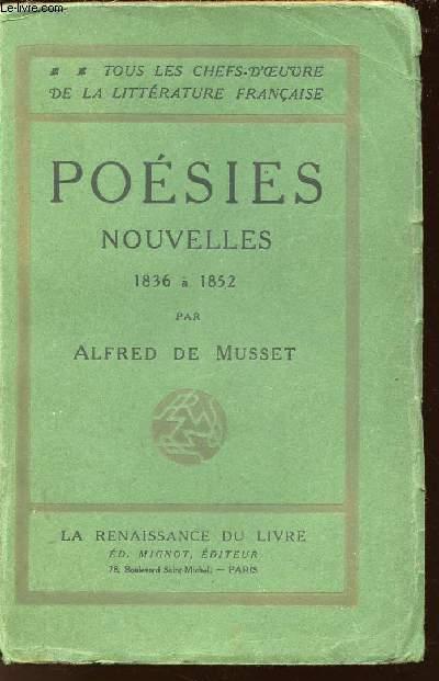 POESIE NOUVELLES 1836 A 1852