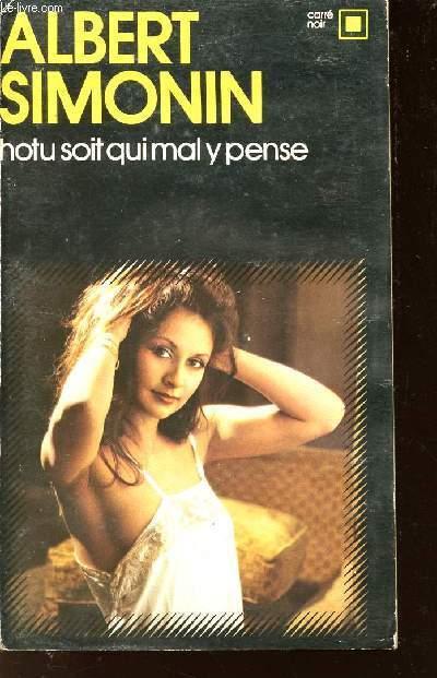 HOTU SOIT QUI MAL Y PENSE /N°138 COLLECTION CARRE NOIR