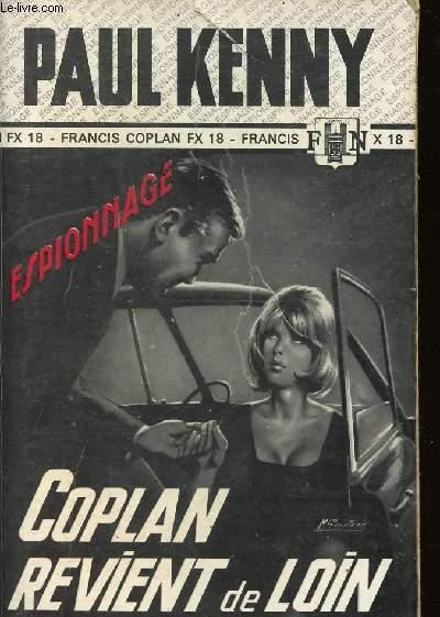 COPLAN REVIENT DE LOIN/ N°641 / COLLECTION HS ESPIONNAGE