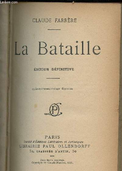 LA BATAILLE