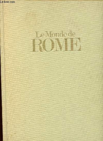 LE MONDE DE ROME
