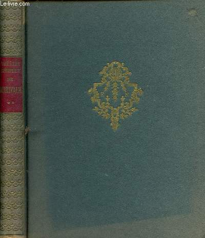 THEATRE COMPLET  DE MARIVAUX - VOLUME 2 - TOME 2