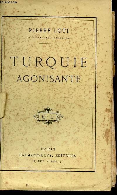 TURQUIE AGONISANTE