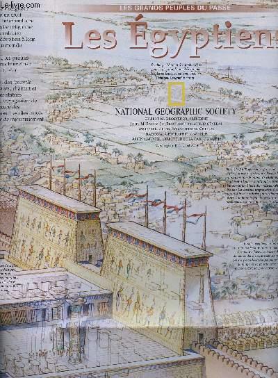 1 DEPLIANT COULEUR RECTO VERSO : LE GRAND PEUPLE DU PASSE : LES EGYPTIENS