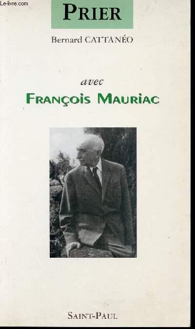 PRIER AVEC FRANCOIS MAURIAC