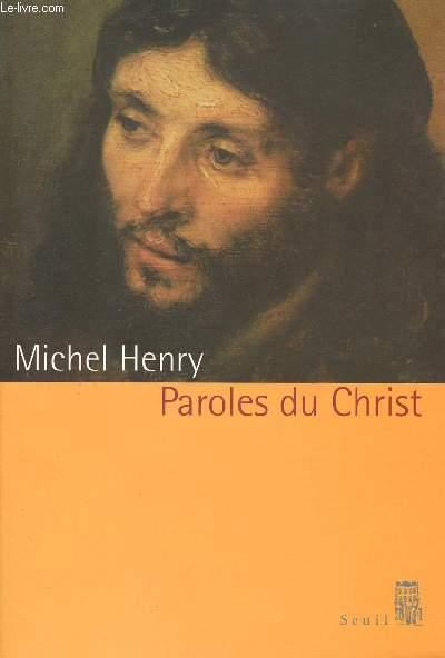 PAROLE DU CHRIST