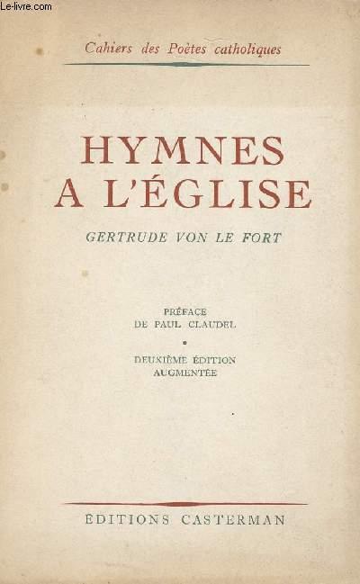 HYMNES A L'EGLISE