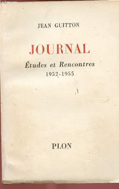 JOURNAL : ETUDES ET RENCONTRES