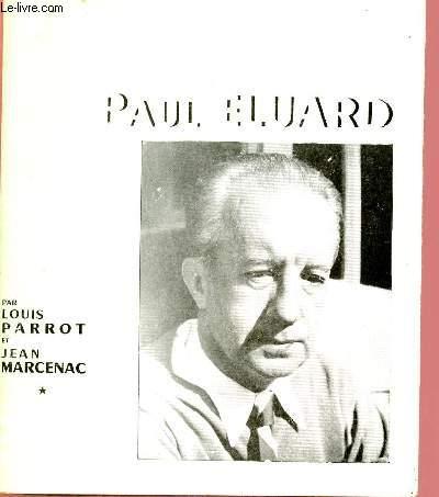 POETES D'AUJOURD'HUI N°1 : PAUL ELUARD