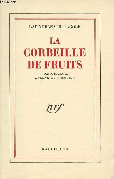 LA CORBEILLE DE FRUITS