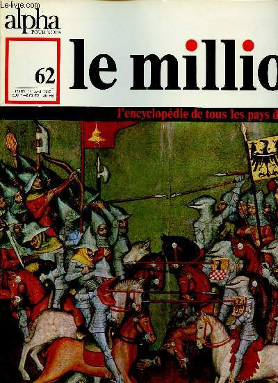 ALPHA POUR TOUS - LE MILLION N° 62 - MAR 14 AVRIL 70 :