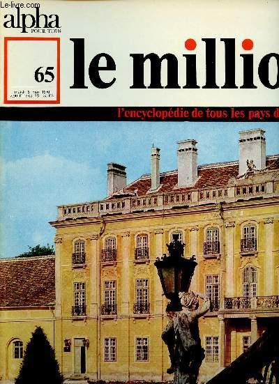 ALPHA POUR TOUS - LE MILLION N°65 - 5 MAI 70 : : HONGRIE : Chronologie / Littérature / Théâtre / Cinéma / Musique / Arts,etc