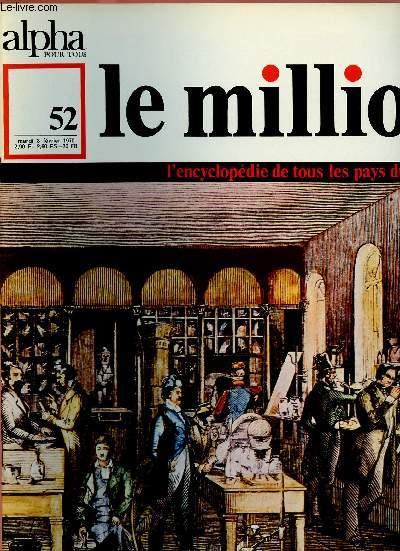 ALPHA POUR TOUS - LE MILLION N°52 - 3 FEV 70 : ALLEMAGNE : Science, traditions, cuisine, société d'aujourd'hui.