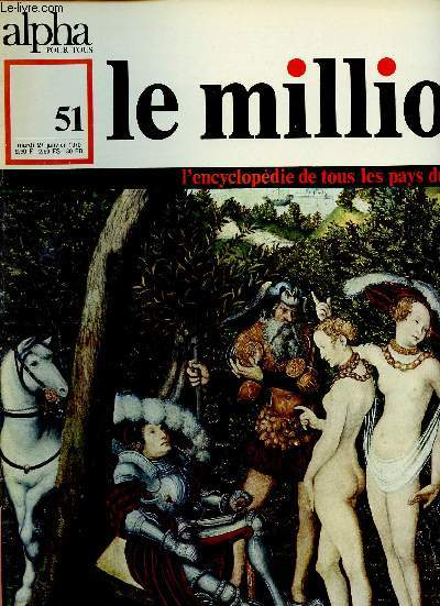 ALPHA POUR TOUS - LE MILLION N°51 - 27 JAN 70 : ALLEMAGNE : Arts, Sciences