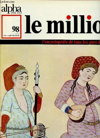 ALPHA POUR TOUS - LE MILLION N°98 - 5 JAN 71 :