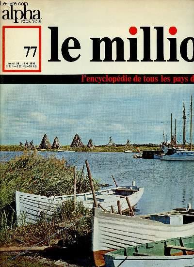 ALPHA POUR TOUS - LE MILLION N°77 - 28 JUI 70 :
