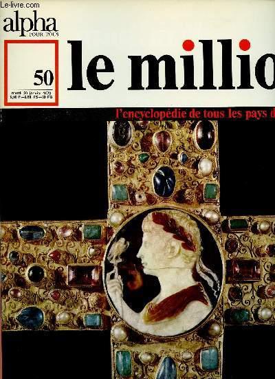 ALPHA POUR TOUS - LE MILLION N°50 -20  JAN 70 -ALLEMAGNE : Littérature (suite), théâtre, musique, cinéma, arts.