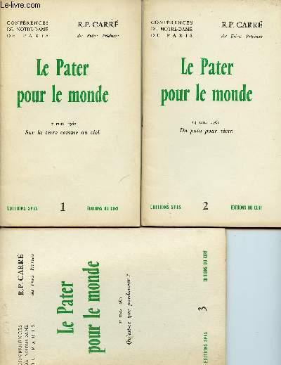 LE PATER POUR LE MONDE  - 6 VOLUMES :  N°1 A 6