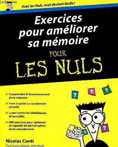 EXERCICES POUR AMELIORER SA MEMOIRE POUR LES NULS
