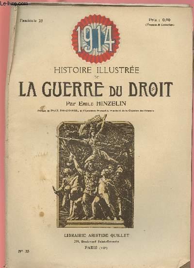1914- HISTOIRE ILLUSTREE DE LA GUERRE DU DROIT N°25
