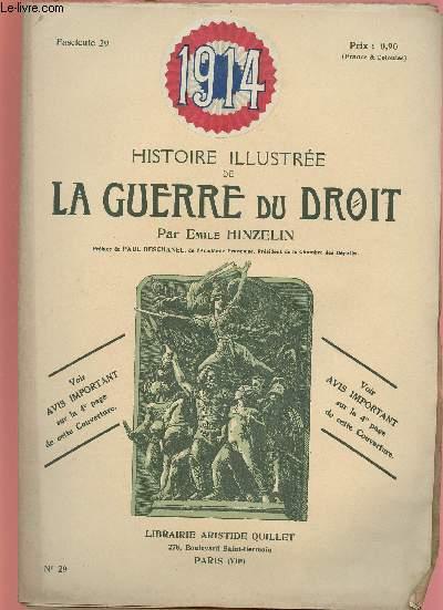 1914- HISTOIRE ILLUSTREE DE LA GUERRE DU DROIT N°29