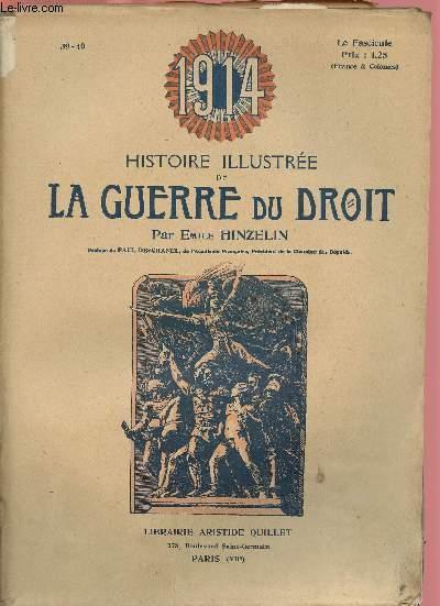 1914- HISTOIRE ILLUSTREE DE LA GUERRE DU DROIT N°39/40