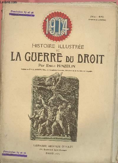 1914- HISTOIRE ILLUSTREE DE LA GUERRE DU DROIT N°23
