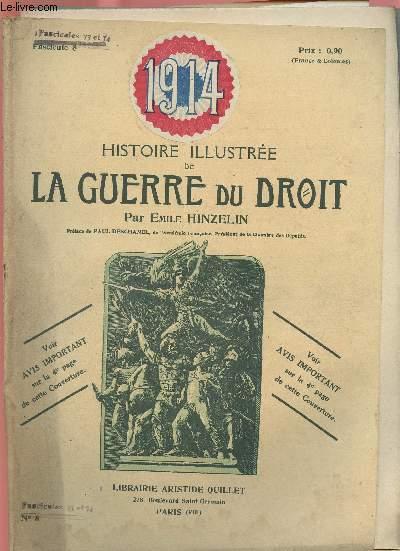 1914- HISTOIRE ILLUSTREE DE LA GUERRE DU DROIT N°8