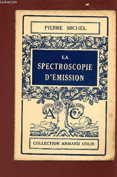LA SPECTROSCOPIE D'EMISSION