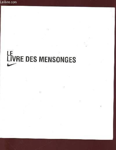 LE LIVRE DES MENSONGES