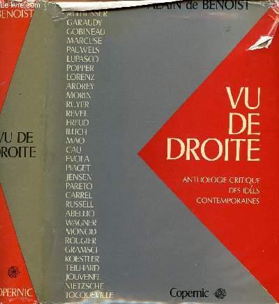 VU DE DROITE : ANTHOLOGIE CRITIQUE DES IDEES CONTEMPORAINES
