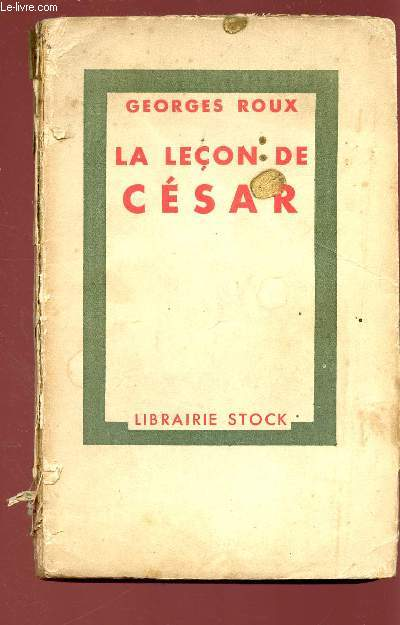 LA LECON DE CESAR