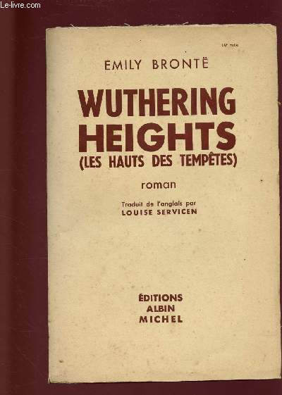 WUTHERING HEIGHT (LES HAUTS DES TEMPETES)