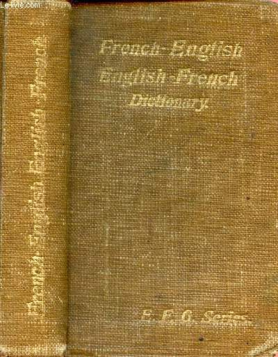 FRENCH-ENGLISH, ENGLISH FRENCH DICTIONNARY