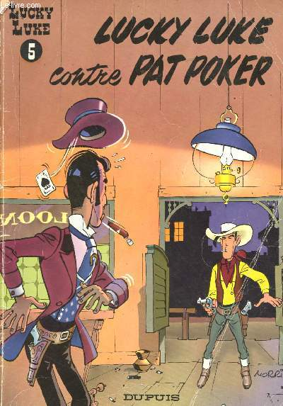 LUCKY LUKE 5 : CONTRE PAT POKER