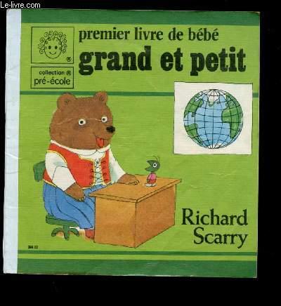 PREMIER LIVRE DE BEBE : GRAND ET PETIT