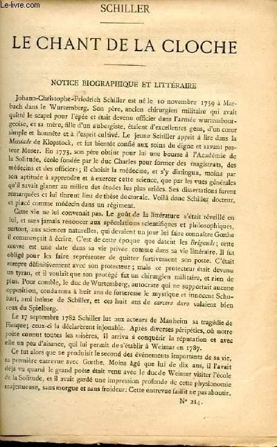 BIBLIOTHEQUE POPULAIRE N°214 : LE CHANT DE LA CLOCHE