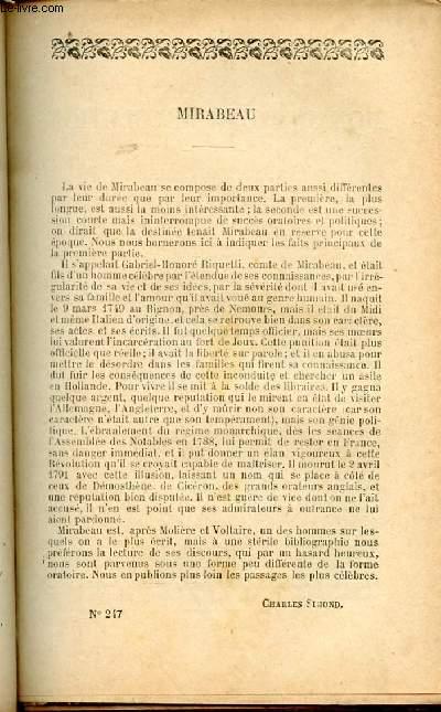 BIBLIOTHEQUE POPULAIRE N°247 : MONARCHE ET REVOLUTION / SANCTION ROYALE