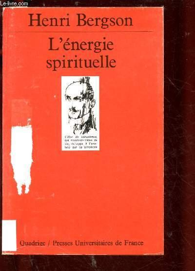 L'ENERGIE SPIRITUELLE