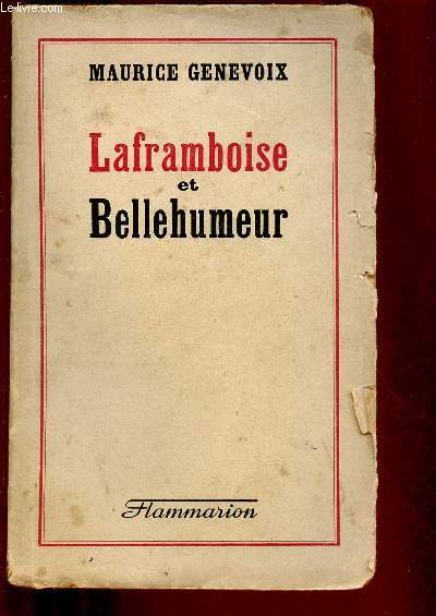 LAFRAMBROISE ET BELLEHUMEUR (ROMAN)
