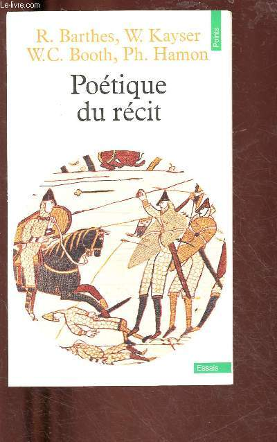 POETIQUE DU RECIT (ESSAIS) - COLLECTION