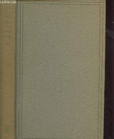 OEUVRES CHOISIES - TOME VIII (1 VOLUME) : L'INTERDICTION suivi de LA VIEILLE FILLE, ETUDE DE FEMME, AUTRE ETUDE DE FEMME