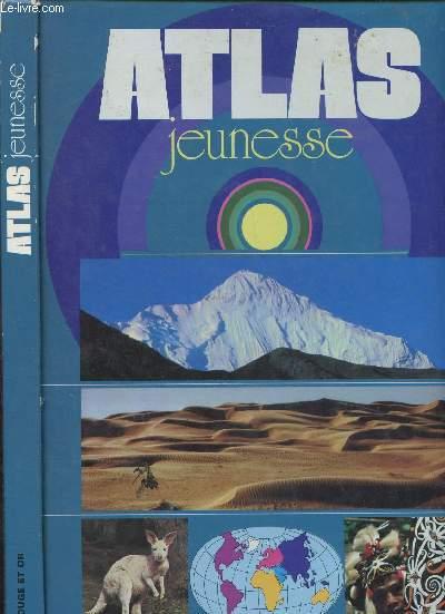 ATLAS JEUNESSE : Terre, Lune, Formation des continents, France administrative, Industrie, Agriculture,Chine, Etats pétroliers,etc
