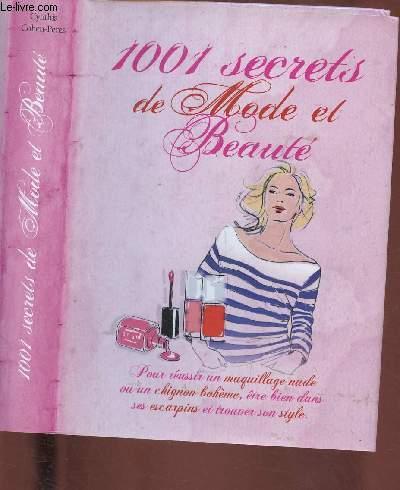 1001 SECRETS DE MODE ET BEAUTE