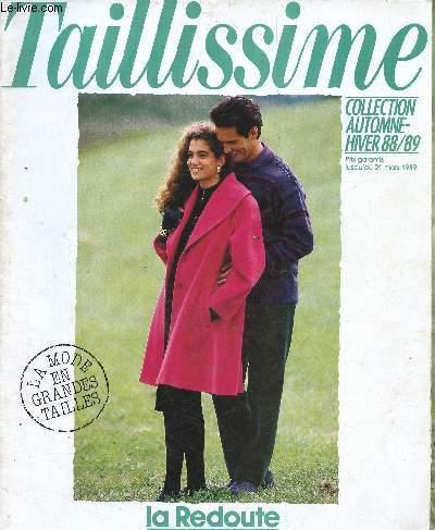 Catalogue La Redoute è Taillissime Collection Automne Hiver 88 89 La Mode En Grande Taille
