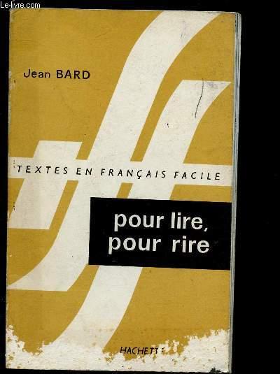 POUR LIRE, POUR RIRE - TEXTES EN FRANCAIS FACILE : Michel Jazy / Le tunnel sous la manche /