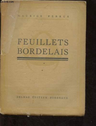 FEUILLETS BORDELAIS - 1ERE SERIE - COLLECTION