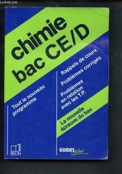 CHIMIE BAC CE ET D - COLLECTION