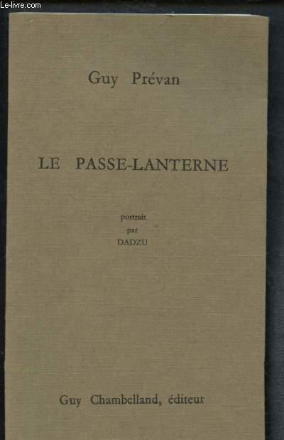LE PASSE-LANTERNE
